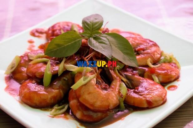 Buttered Garlic Prawns - St Nicholas Resto Mandaluyong-DSCF3283