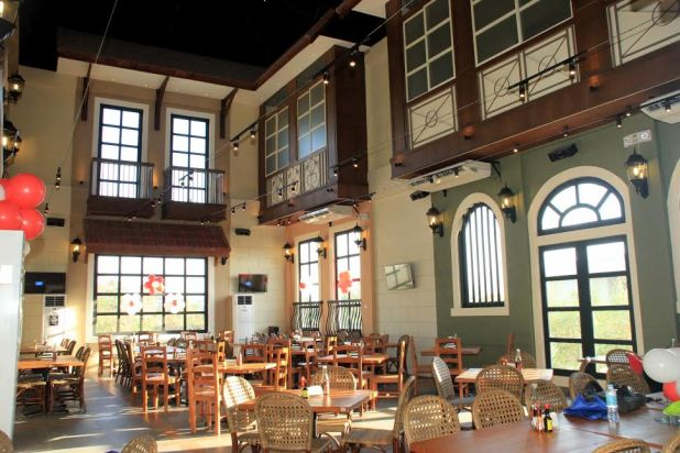 Interior of the New Gerry's Aseana branch