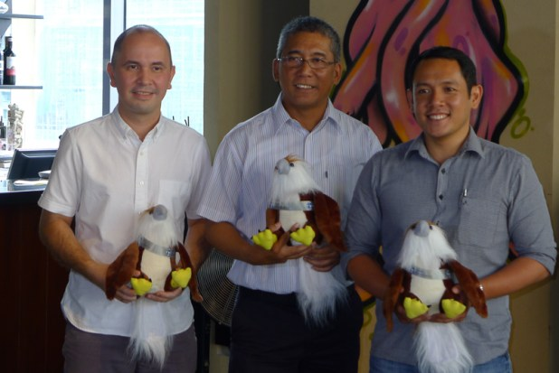 Globe Business and Philippine Eagle Foundation releases Pamana  back into the wild this Independence day-1120642