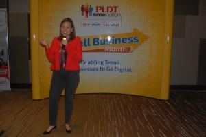 Kat Luna-Abelarde PLDT First Vice President and Head of SME Business