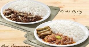 711 7-Eleven New Pinoy Filipino Dishes Chef Creations Bistek Tagalog and Pork Binagoongan by Claude Tayag