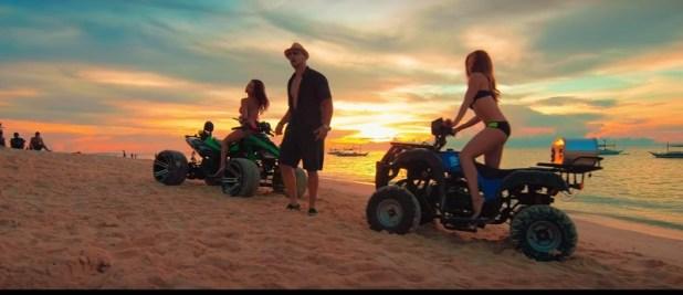 Ashley Rivera Roxee B oxygen j young music video boracay 4
