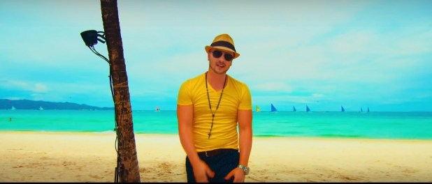 oxygen j young music video boracay
