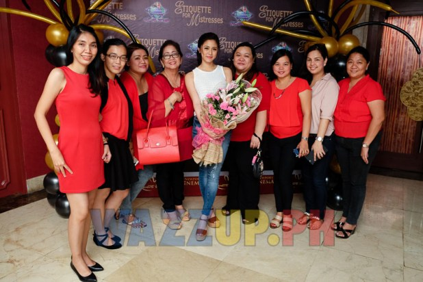 KATG-KimXian Around the Globe block screening of Etiquette for Mistresses