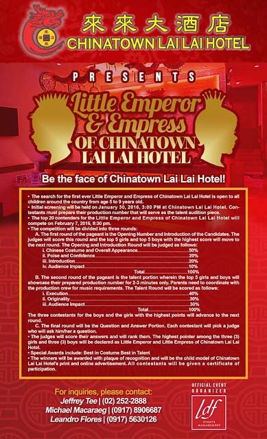 EXPERIENCE THE SPECIAL CELEBRATION OF CHINESE NEW YEAR AT CHINATOWN LAI LAI HOTEL-2-2