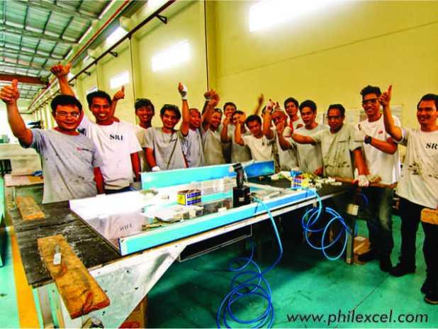 Abundant workforce at PHILEXCEL Business Park