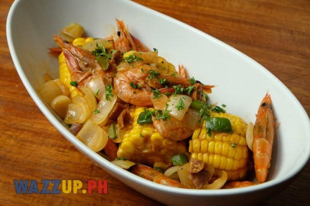 Big D's Smokehouse Restaurant Southern Comfort Food Ribs Steaks - Shrimp Steampot