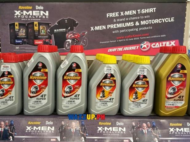 Chevron Havoline Delo Handyman Caltex Lubricants X-Men Apocalypse Promo Win Raffle Yamaha Motorbike-3