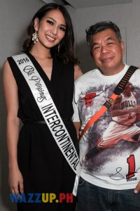 Miss Universe Philippines 2016 Maxine Medina with Ted Claudio-6826