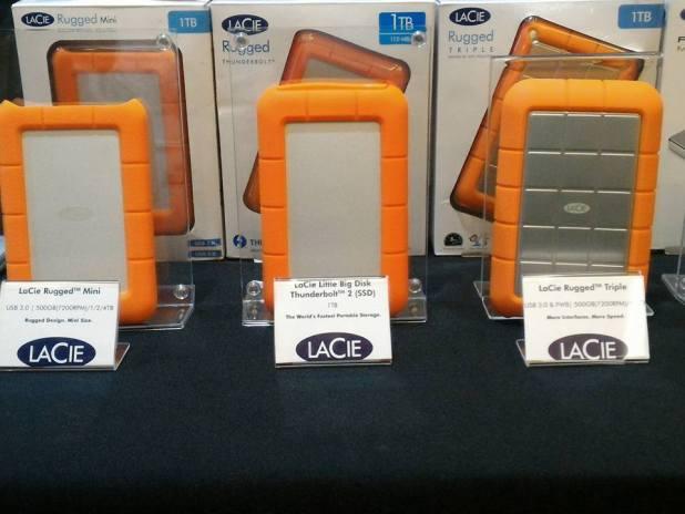 LaCie Rugged RAID Portable Hard Disk Powermac 2