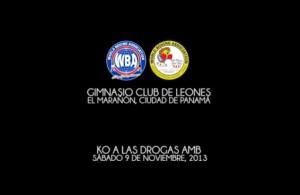 KO Drugs nov-2013 Panama City