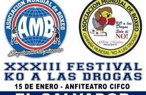 XXXII KO a Las Drogas en El Salvador
