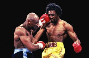 Hagler's fight with Thomas Hearns in 1985 is among the greatest three rounds in boxing history. (Photo: Will Hart/HBO)