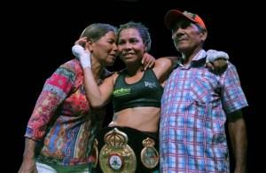"""She was a very difficult opponent,"" Palmera told El Tiempo, ""but I was prepared for this win."" (Photo: Carlos Campella/El Tiempo)"