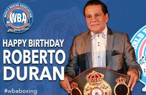 Happy Birthday Roberto Durán