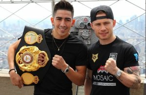 Leo Santa Cruz vs Carl Frampton - WBA Super Featherweight Super Championship