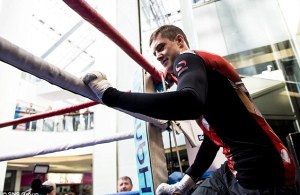 Ricky Burns - Kiryl Relikh open workout