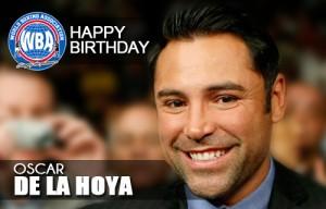 Oscar De La Hoya HB 2014