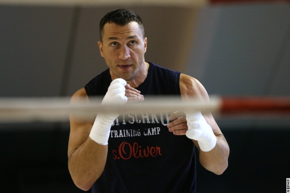 W. Klitschko is Working Hard For Leapai Defense