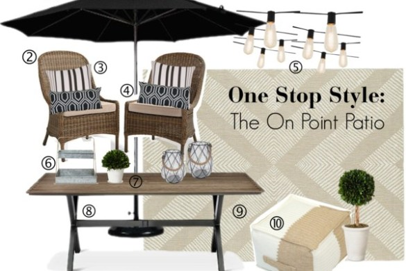 Target Patio Set (The On Point Patio)