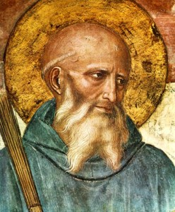 saint benedict 248x300 The sacred rhythm of prayer