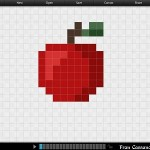 11 C FC WDW Radio Stitched Embellishments Using Disney PIXELD Snow White Apple
