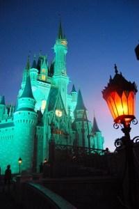 Cinderella Castle at 6 am