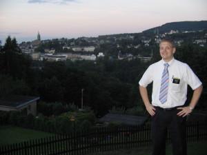 Mormon missionary