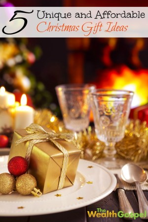 It is October, which means Christmas shopping season is here! Inside, we've got some ideas for unique Christmas gifts that won't bust your budget!