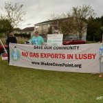 Giving gas industry insiders a proper Lusby welcome