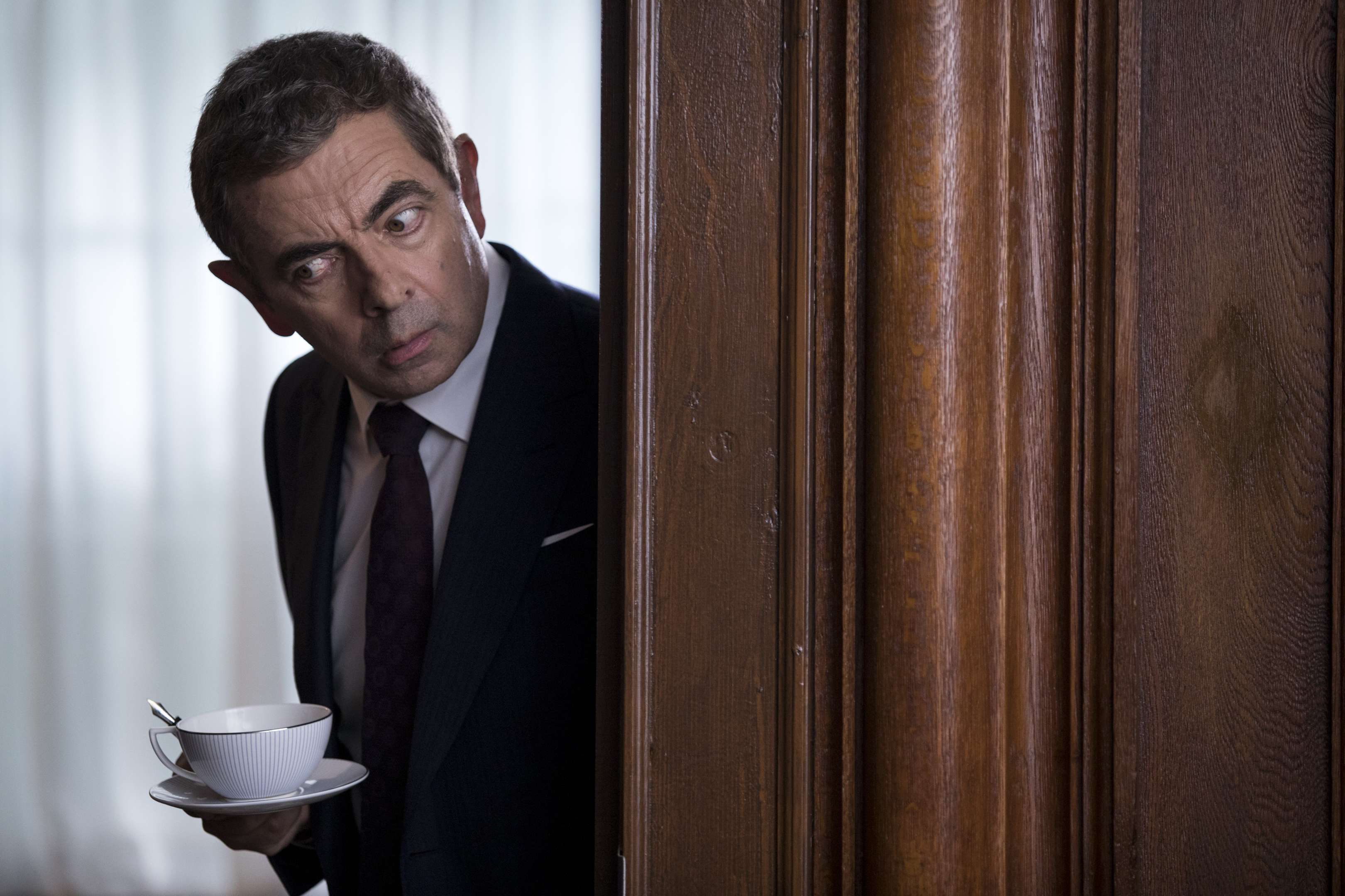 Rowan Atkinson is back as Johnny English in new film trailer