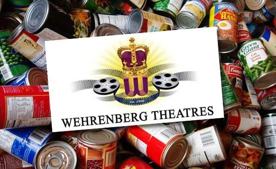 Wehrenberg Canned Food Drive