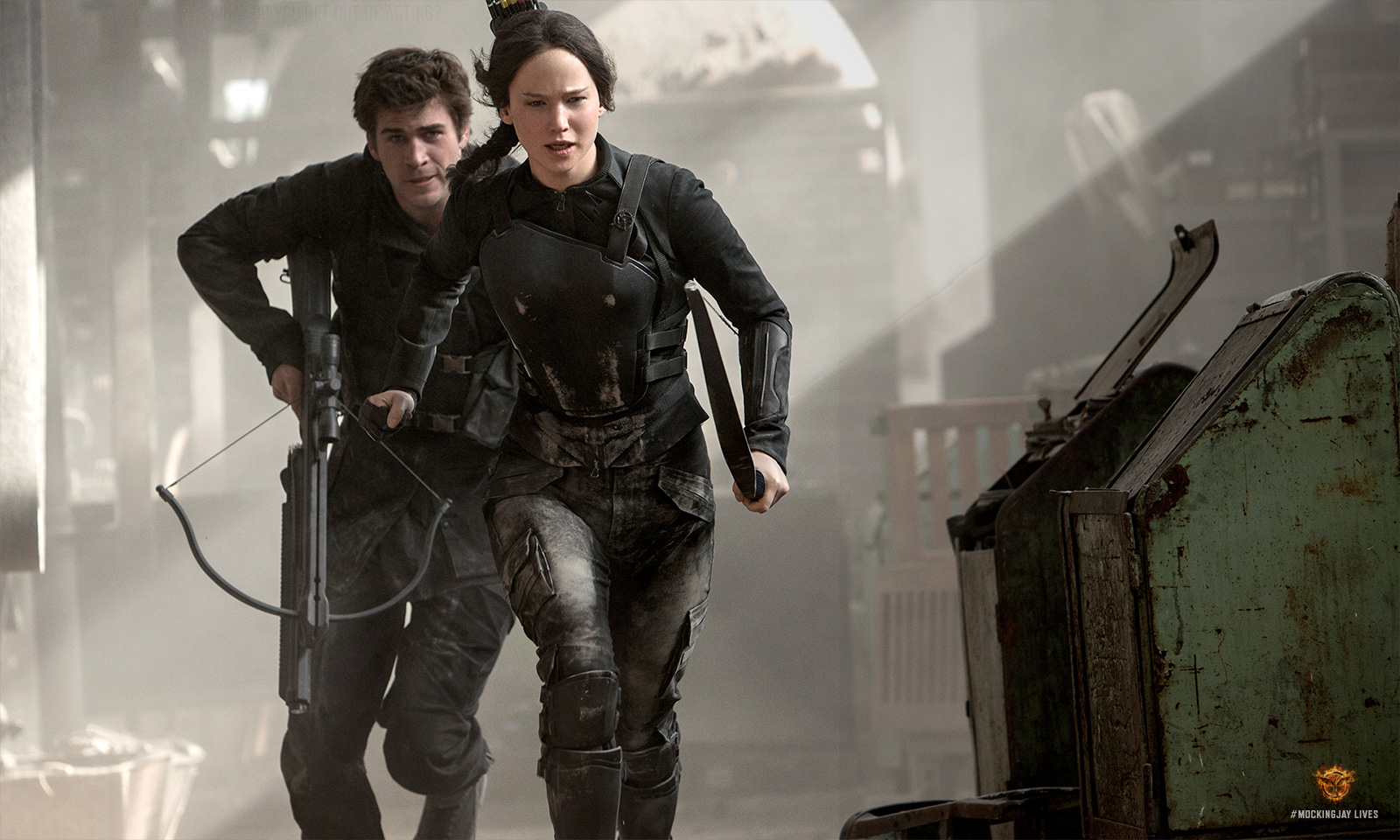 THE HUNGER GAMES: MOCKINGJAY - PART 1 - The Review - We