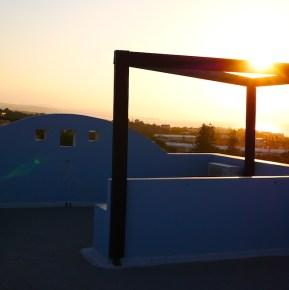 Belvilla zonsondergang