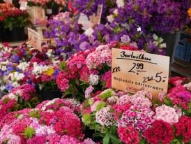 Bloemen Boxhagener Platz markt berlijn