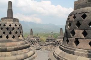 Borobudur stoepas java