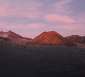 Bromo vulkaan zonsopgang java hoogtepunt