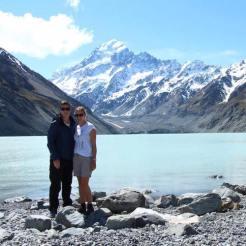 Frans jozef glacier yvonne backpacken nieuw zeeland