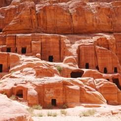 Handelsstad petra in het mooie jordanie