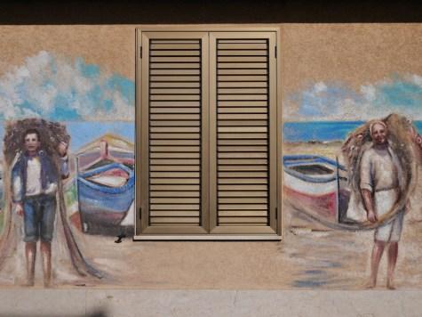 Huizen brucoli sicilie