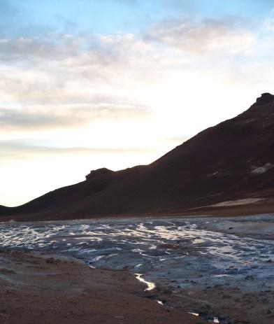 Namafjall Hverir landschap