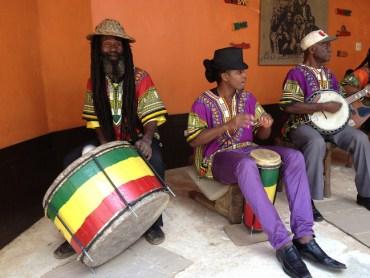 Jamaica stranden muziek