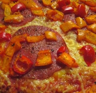 Koken op de camping pizza