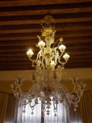 Kroonluchter hotel venetie bijzonder overnachten