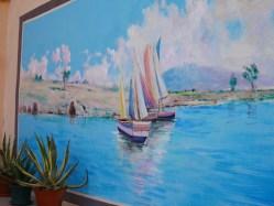Schilderingen brucoli sicilie