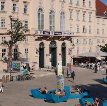 Wenen museum quartier