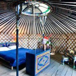 Yurt in frankrijk