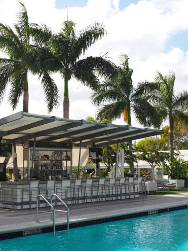 Zwembad vagabond motel miami