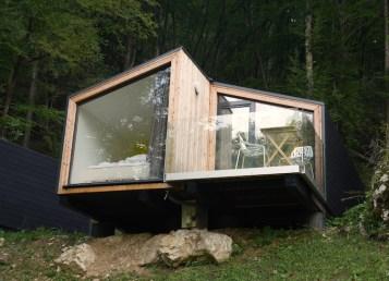 hut glamping villa lake bled