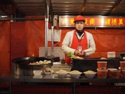verkoper streetfood beijing